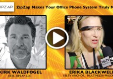 ZipZap, LLC, Kirk Waldfogel speaks with YBLTV Anchor, Erika Blackwell.