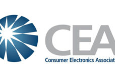 Consumer Electronics Association Logo.
