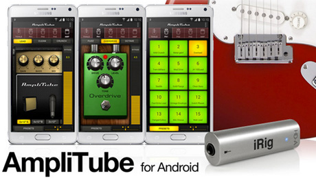 IK Multimedia's AmpliTube and iRig HD-A are now available for Android on Samsung Professional Audio devices