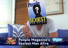 PEOPLE's Sexiest Man Alive - Chris Hemsworth - on Jimmy Kimmel Live