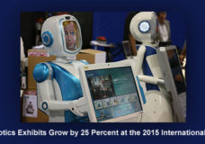 Robotics Exhibits Grow by 25 Percent at the 2015 International CES