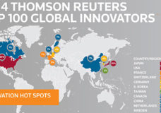 Thomson Reuters congratulates its 2014 Top 100 Global Innovators, those organizations that are leading the world in innovation through the discovery, protection and commercialization of inventions globally. See top100innovators.com for more information. (PRNewsFoto/Thomson Reuters)