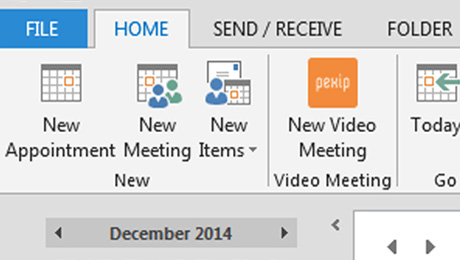 Pexip® Infinity Now Embedded Within Microsoft® Outlook® Using Covene Cohesion Scheduling Module