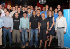 The new Sennheiser RF experts with their mentors