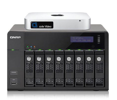Media Managed Storage Solutions from axle Video and QNAP Address Dramatic Growth of Video in Government