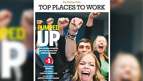 iZotope Named Top Place to Work in 2014 by The Boston Globe