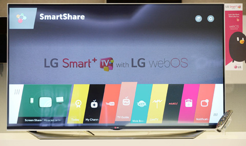 "LG Electronics (LG) will unveil an expansive TV lineup featuring the company's new ""webOS 2.0"" Smart TV platform at the 2015 International CES(R), Jan. 6-9 in Las Vegas. LG's webOS 2.0 is specifically designed to deliver a superior ..."