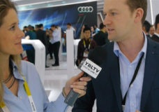 Audi of America, Engineer, Martin Deinhard chats with YBLTV Anchor, Brandy Falconer at the 2015 International CES.