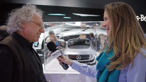 Alexander Mankowsky, Future Studies & Ideation, Daimler AG chats with YBLTV Anchor, Brandy Falconer at the 2015 International CES.