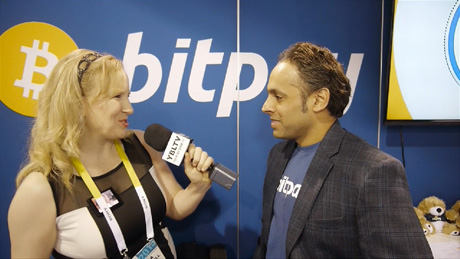 BitPay Inc., Chief Commercial Officer, Sonny Singh chats Bitcoin with YBLTV Anchor, Erika Blackwell at the 2015 International CES.