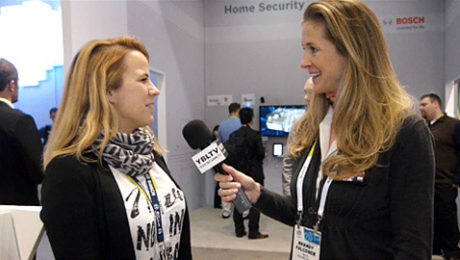 Barbara Zelenay, Group Manager of Car Multimedia Marketing Communication & Relations for Bosch chats with YBLTV Anchor, Brandy Falconer at the 2015 International CES.
