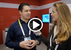 George Burin from Robert Bosch Tool Division chats with YBLTV Anchor, Brandy Falconer at the 2015 International CES.