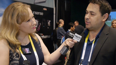 Epson America's, Donald Brewer chats with YBLTV Anchor, Erika Blackwell at the 2015 International CES.