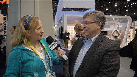 Globo's Paul DePond Talks IoT, Wearables and Device Management with YBLTV Anchor, Erika Blackwell at 2015 International CES.