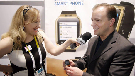 GoldKey's Executive VP, Joseph Billings chats with YBLTV Anchor, Erika Blackwell at 2015 International CES.