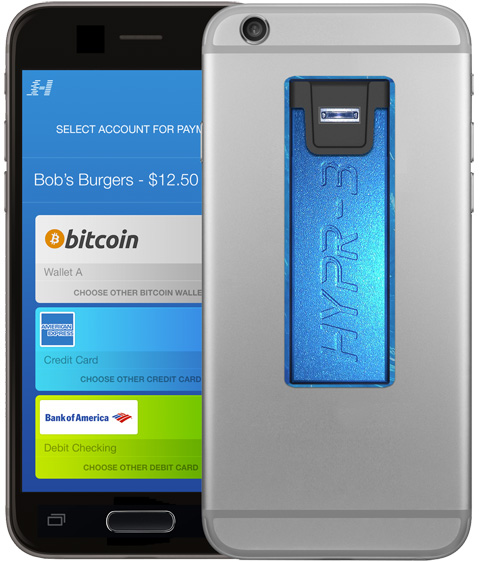 HYPR-3 Biometric Payment Gateway exhibited at 2015 International CES.