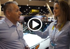 Michael Deitz, Senior Group Manager for Connected Car Owner Programs at Hyundai Motor America chats with YBLTV Anchor, Brandy Falconer at the 2015 International CES.