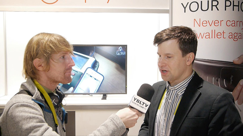 LoopPay, Inc. CMO, Gregory Mann chats with YBLTV Anchor, Eric Sheffield at the 2015 International CES/