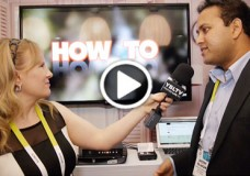 YBLTV Anchor, Erika Blackwell chats with Aneesh Rajaram, Senior Vice-President for TV & Devices, Opera Software at the 2015 International CES.