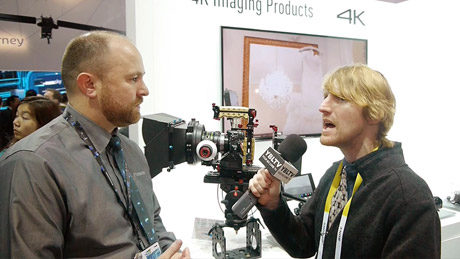 YBLTV Anchor, Eric Sheffield chats with Panasonic Consumer Electronics Company, Field Training Manager, Matt Frazer at 2015 International CES.