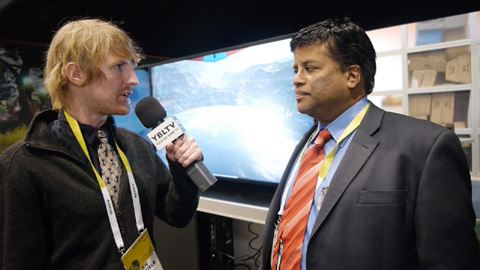 YBLTV Anchor, Eric Sheffield Chats With Stream TV Networks' CEO, Mathu Rajan at the 2015 International CES.