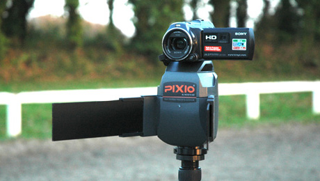 World's First Indoor/Outdoor Auto-Follow Camera Mount, Pixio, Available on Indiegogo