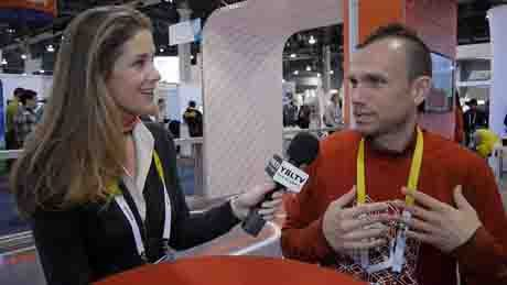 Acton, Inc., Co-Founder and CTO, Peter Treadway chats with YBLTV Anchor, Brandy Falconer at the 2015 International CES.