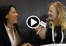 FashionTEQ CEO, Judy Tomlinson chats with YBLTV Anchor, Erika Blackwell at the 2015 International CES.