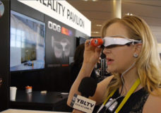 YBLTV Anchor, Erika Blackwell checks out augmented reality from Infinity AR.