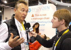 INNOVZEN, CEO, Jean-Louis Portales chats with YBLTV Anchor, Eric Sheffield at the 2015 International CES.