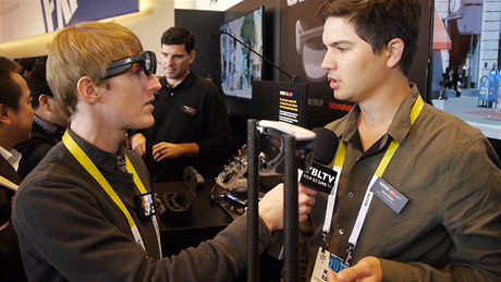 ODG's Director, Mick Eddy chats with YBLTV Anchor, Eric Sheffield at the 2015 International CES.