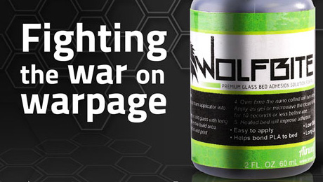 Airwolf 3D Unveils WolfBite Nano, Industry-Changing Adhesive Solution for Optimal 3D Printing