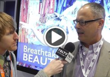 Bob Wudeck, Associate VP of Strategy and Business Development at BenQ America Corp. chats with YBLTV Anchor, Eric Sheffield at the 2015 Digital Signage Expo.