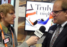 Daniel Leunig, Sr. National Sales Manager, HE-B2B Commercial, LG Electronics USA, Inc. talks digital signage with YBLTV Anchor, Eric Sheffield at Digital Signage Expo 2015.