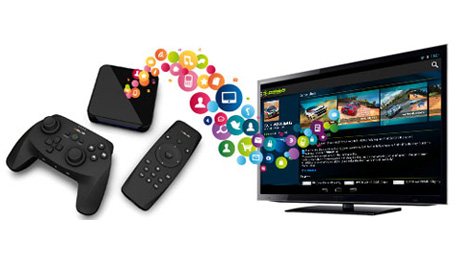 Nexway Chosen to Power  Global White Label Android App Store  on snakebyte's QEUS SmartTV Set-Top Box