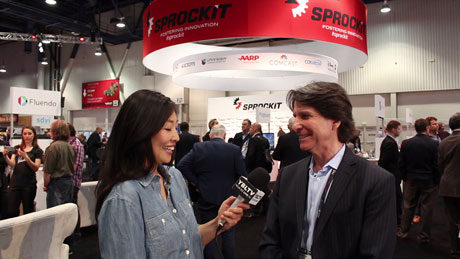 Harry Glazer, CEO and Founder of Sprockit chats with YBLTV Contributing Guest Reporter, Gar-Ye Lee at the 2015 National Association of Broadcasters Show.