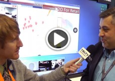 Mansour Breck, Vice President of Research and Development, CTO at X2O Media chats with YBLTV Anchor, Eric Sheffield at the 2015 Digital Signage Expo.