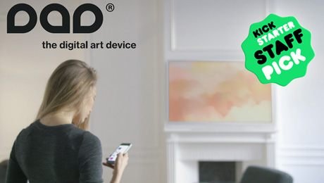 Kickstarter Selects DAD Digital Art Device for Its French Platform Launch
