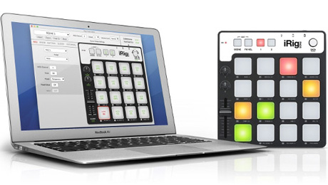 IK Multimedia Releases iRig® Pads Editor Software for Mac and PC