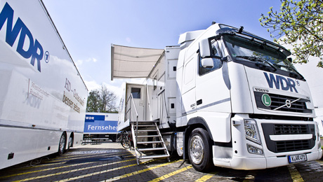 WDR Boosts Flexibility and Agility of OB Vans, Installing Riedel MediorNet Compact in HD Upgrade of Mobile Units