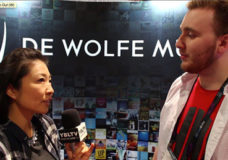 De Wolfe Music USA Inc., Client Services Manager, Andrew Saliski chats with YBLTV Contributing Guest Reporter, Gar-Ye Lee at NAB 2015.