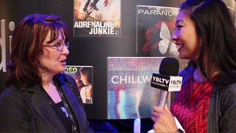 Cristy Hyatt Coffey, Director of Marketing for FirstCom Music chats with YBLTV Contributing Guest Reporter, Gar-Ye Lee at NAB 2015.