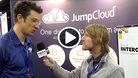 Gregory Keller, Chief Product Officer of JumpCloud chats with YBLTV Anchor, Eric Sheffield at Interop 2015.