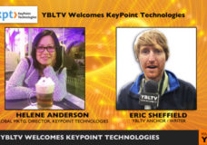 KeyPoint Technologies' Global Marketing Director, Helen Anderson speaks with YBLTV Anchor, Eric Sheffield.