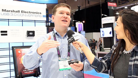 Marshall Electronics' Director of Sales, Broadcast AV Division expert, Devan Cress chats with YBLTV Contributing Guest Reporter, Gar-Ye Lee at the 2015 NAB Show.