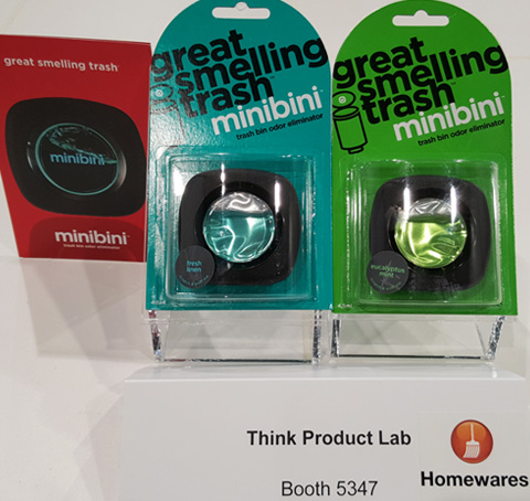 Think Product Lab's Minibini at the 2015 National Hardware Show.