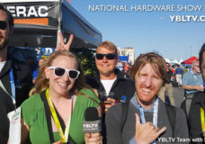 YBLTV with iFixit at the 2015 National Hardware Show Outdoors Tailgate.
