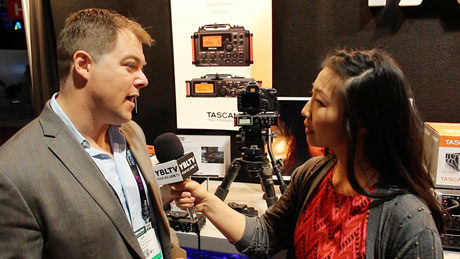 TASCAM Marketing Manager, Jeff Laity chats with YBLTV Contributing Guest Reporter, Gar-Ye Lee at the 2015 NAB Show.