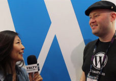 VIP Wrangler of Wordpress, Chris Hardie chats with YBLTV Contributing Guest Reporter, Gar-Ye Lee at the 2015 NAB Show.