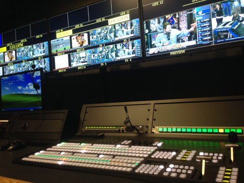 Video Control Room for Mizzou Athletics at the University of Missouri in Columbia